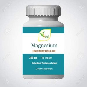 Ved Magnesium | Support Healthy Bones & Teeth | Reduction of Tiredness & Fatigue | 350mg 180 Tablets